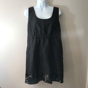 Black print dress by Michael Kors. Size 10
